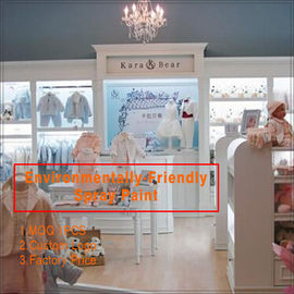 China Nice fashion popular retail Kids Clothing Store interior design fabriek