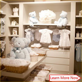 China Customized great clean neat baby apparel stores,baby boutique shop with good quality fabriek