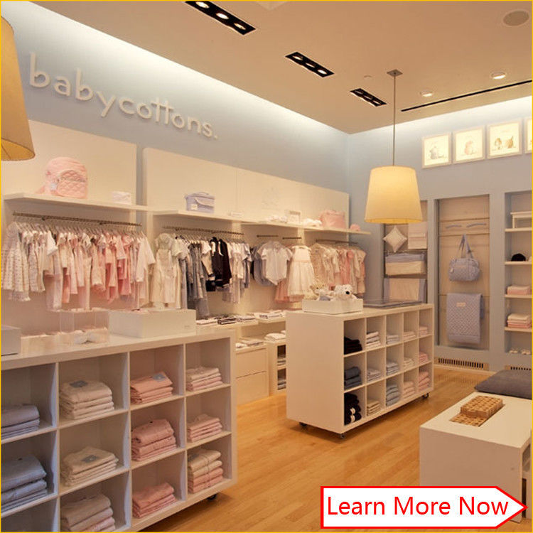 New China hot sale fashion baby clothing stores,shop display fitting clothing stores leverancier
