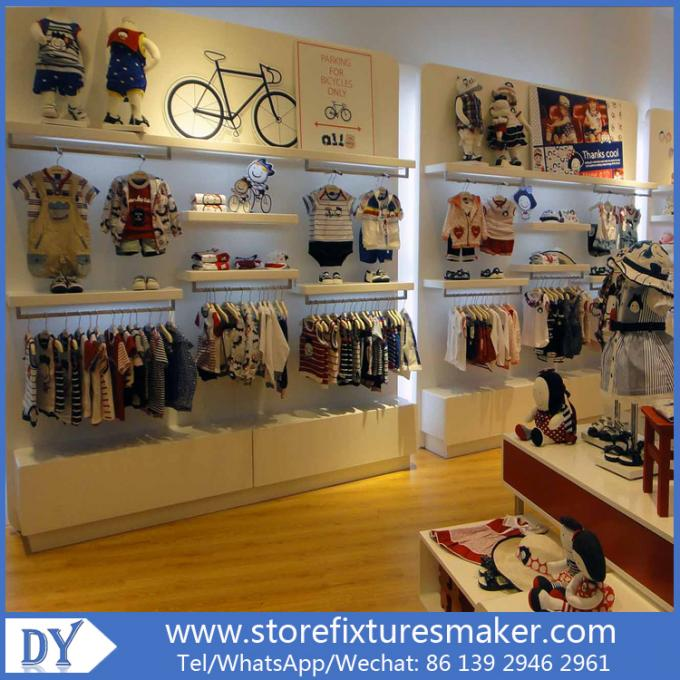 Lovely Kids Clothes Shops - Manufactory Baby Kids Shop display furnitures with led  lights